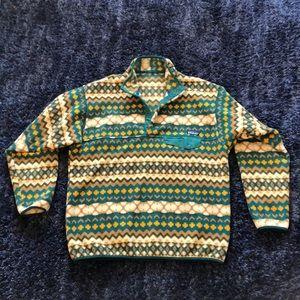Patagonia Synchilla Men's Large Snap T Fleece